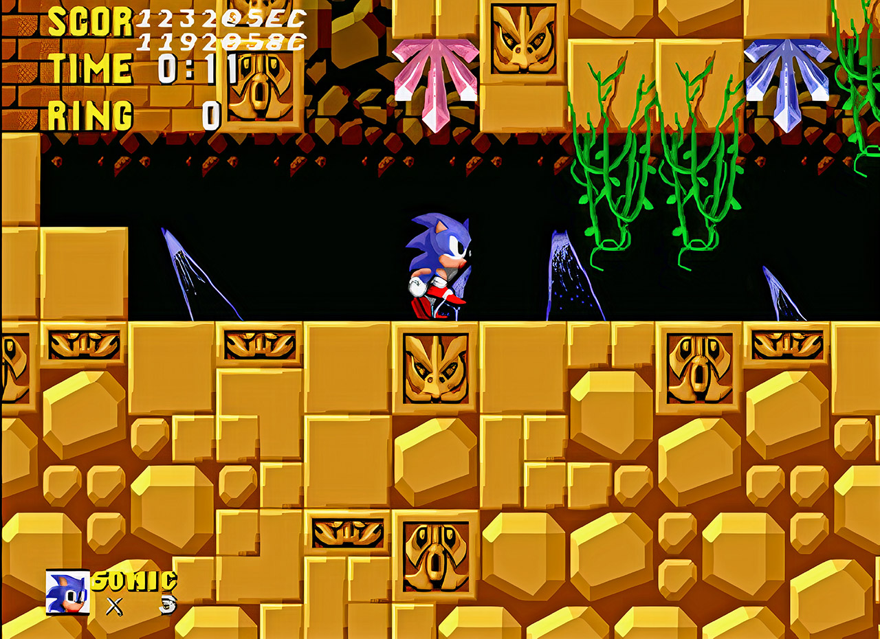 SEGA Sonic the Hedgehog Prototype