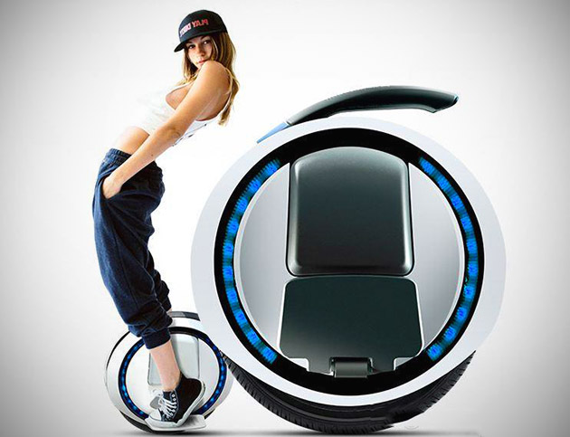 Self-Balancing One Wheel Electric Transporter