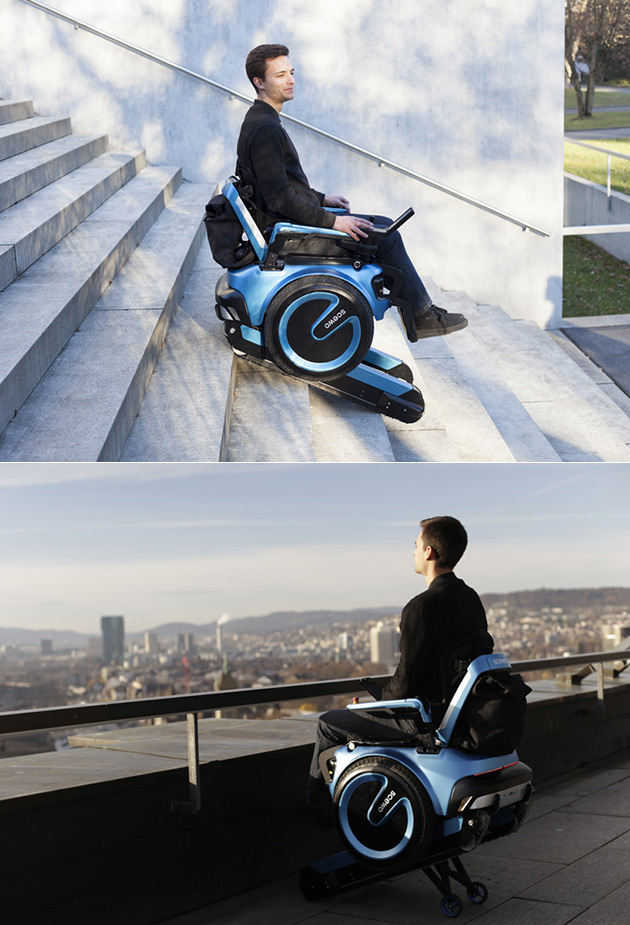 Self-Balancing Wheelchair