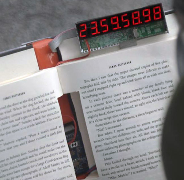 Self Destructing Book