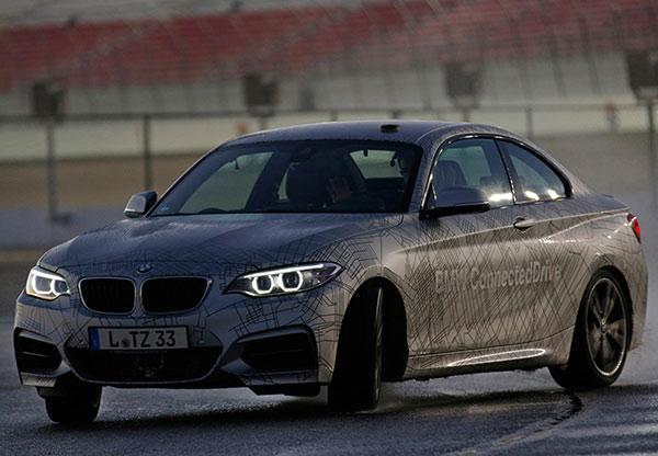Self Drifting BMW