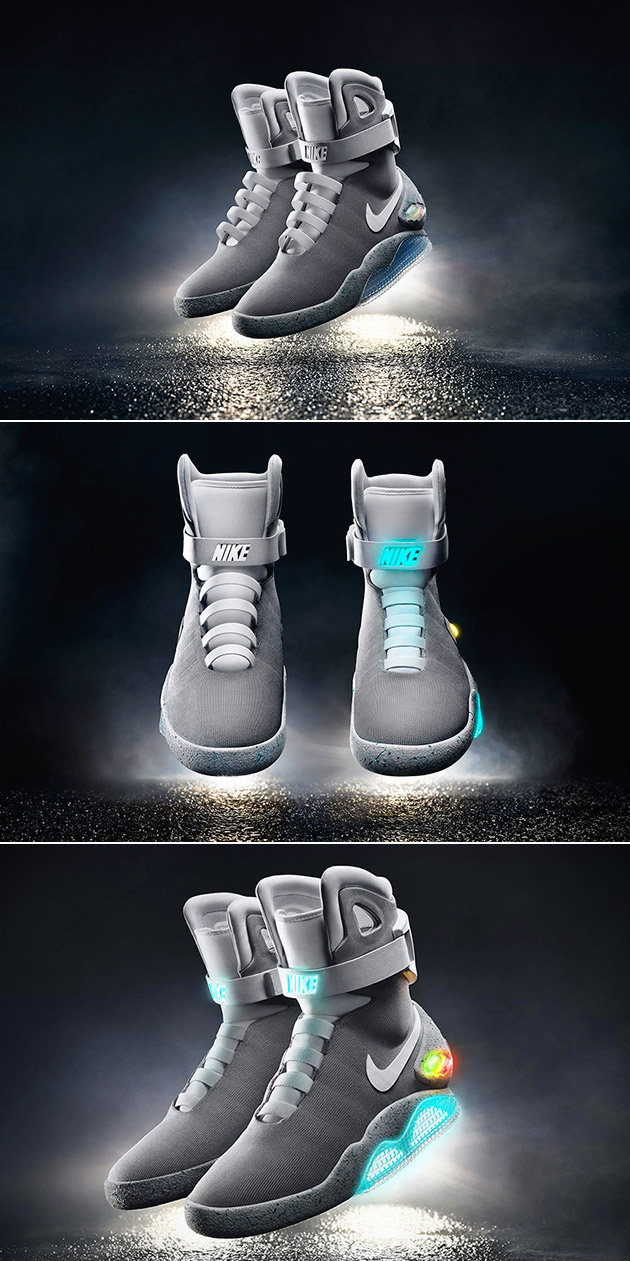 Self Lacing Nike Back to the Future