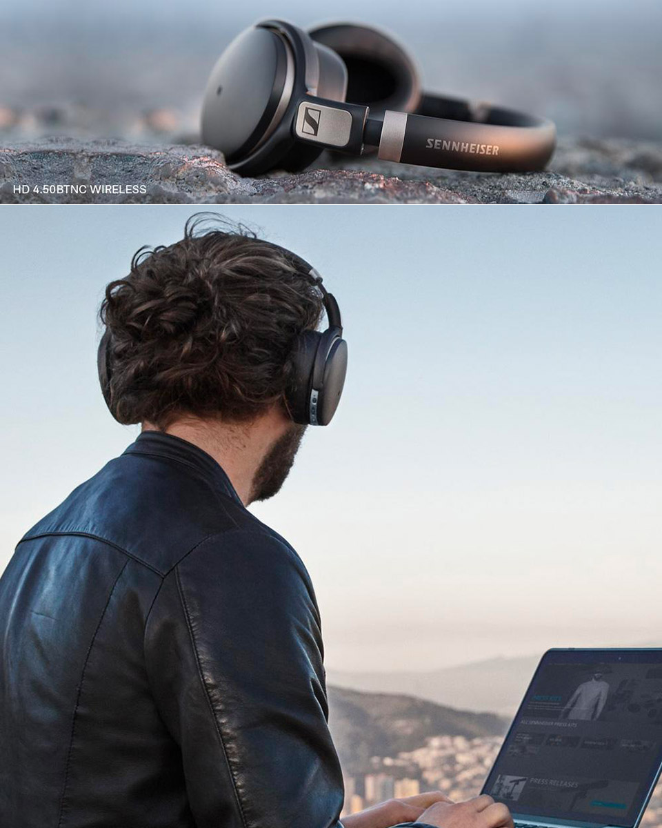Sennheiser HD 4.50 Headphones
