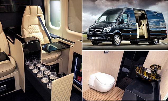 Luxury Mercedes Van