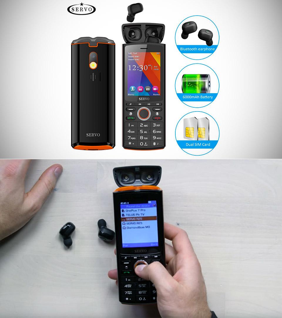 SERVO R25 Smartphone Power Bank