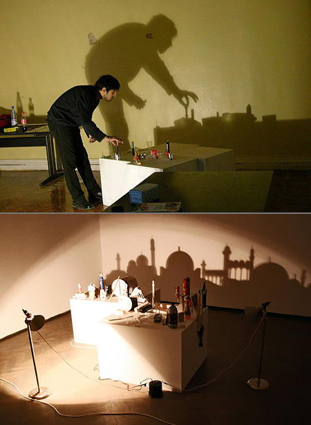 Mind Blowing Optical Illusion Shadow Paintings Techeblog