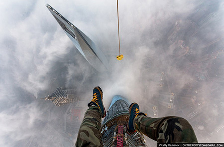 Climbing Shanghai Tower