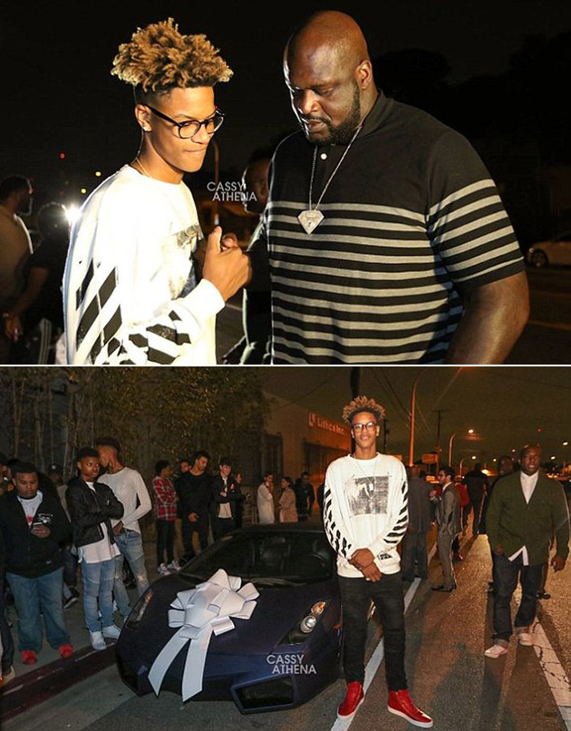 Shaquille O'Neal Son Shareef