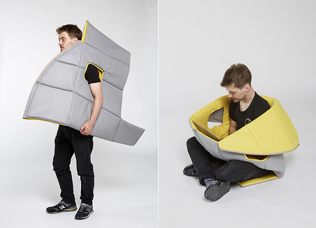 Sharkman Wearable Furniture