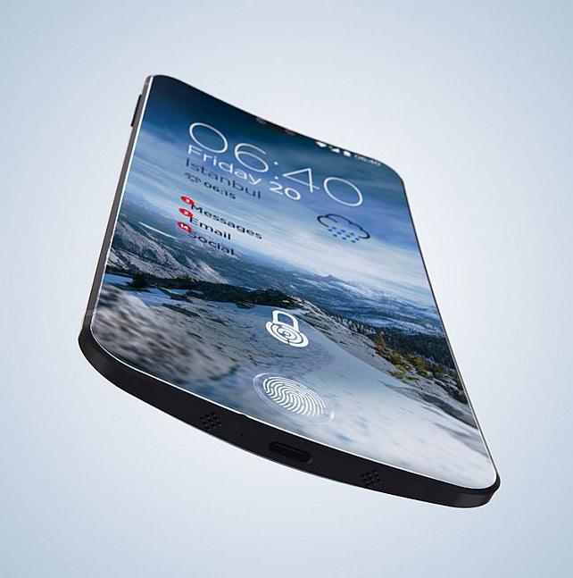 Sharp Curve Smartphone