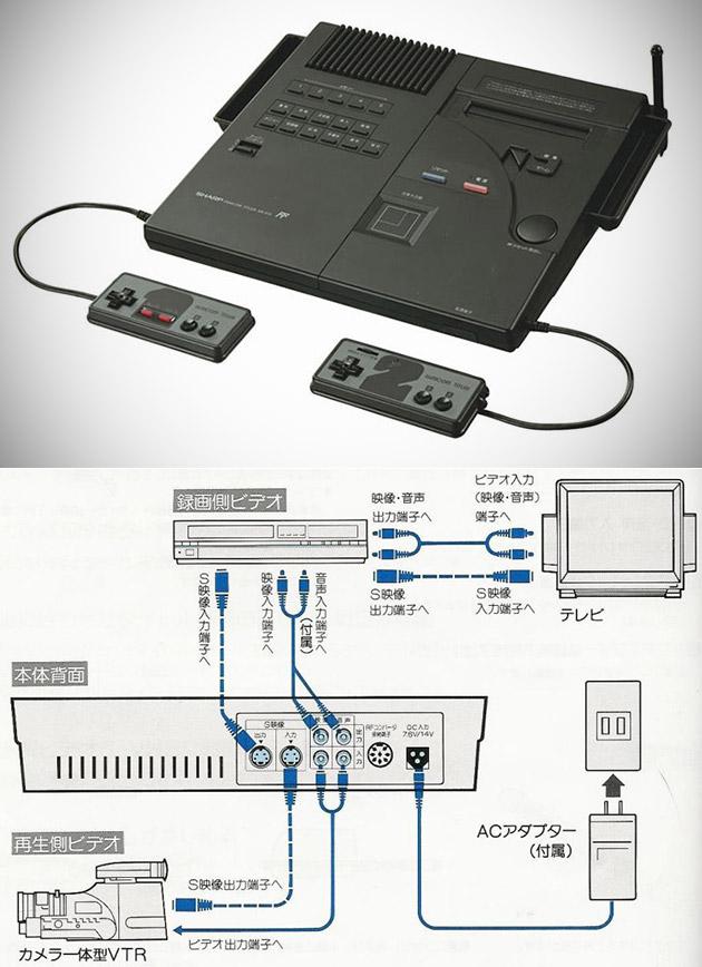 Sharp Famicom Titler Nintendo