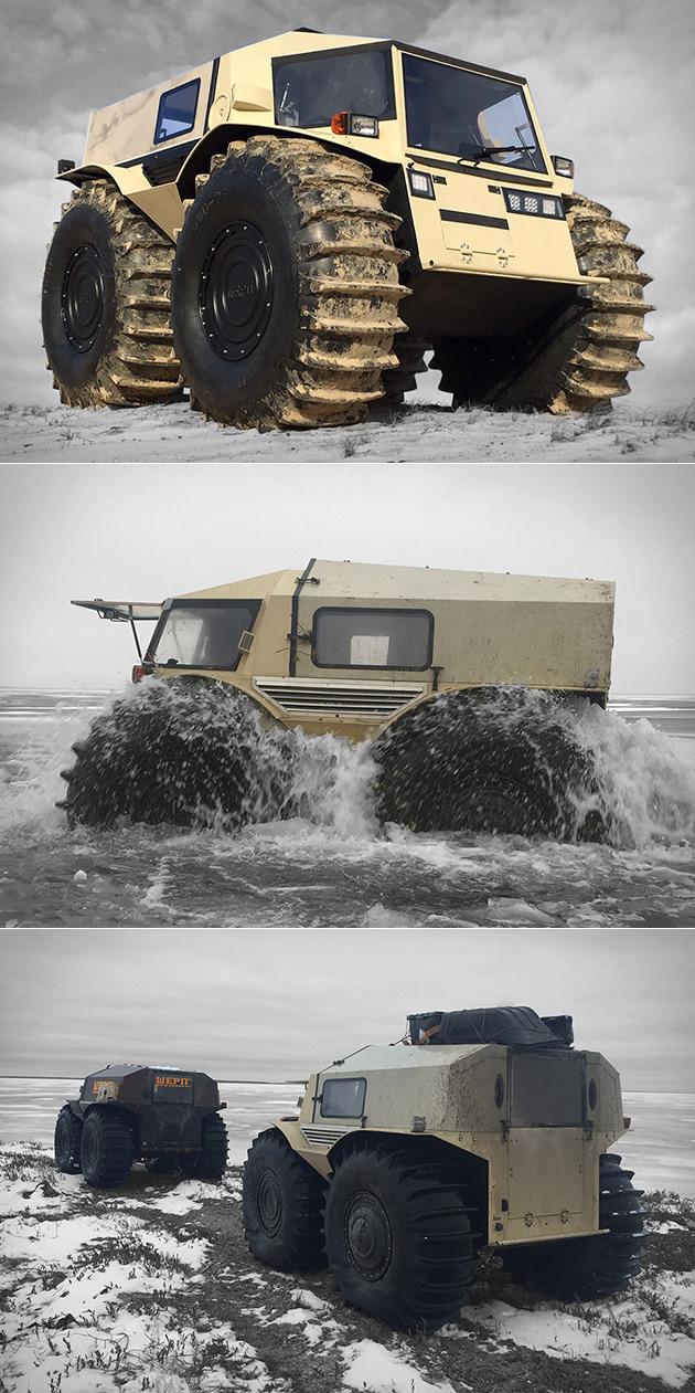 Sherp ATV Truck