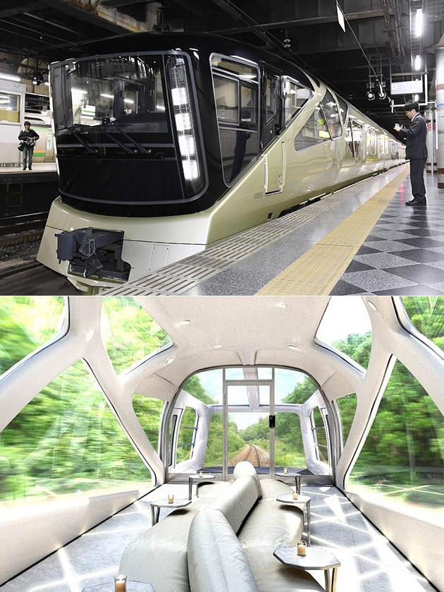 Shiki-Shima Train Ferrari