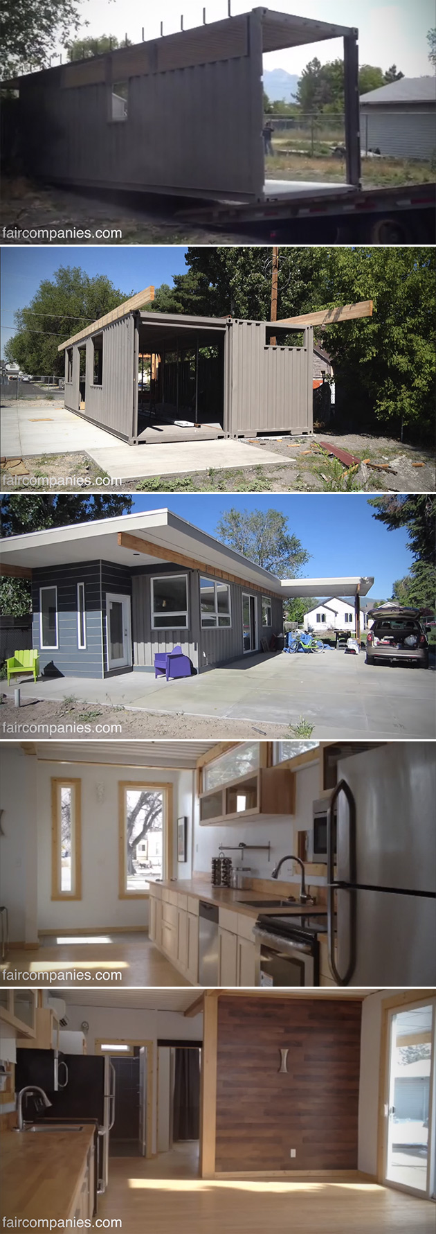 Shipping Container Home Utah