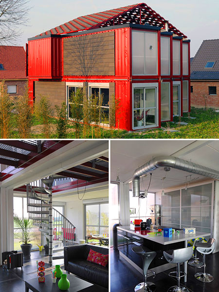 5 ultra creative shipping container structures - Large shipping container homes ...