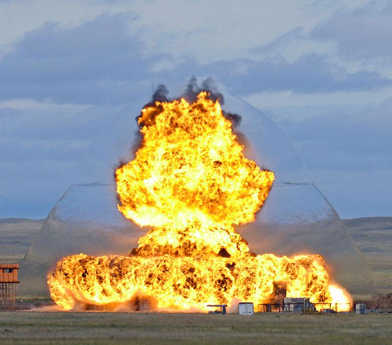 Shock Wave Explosion