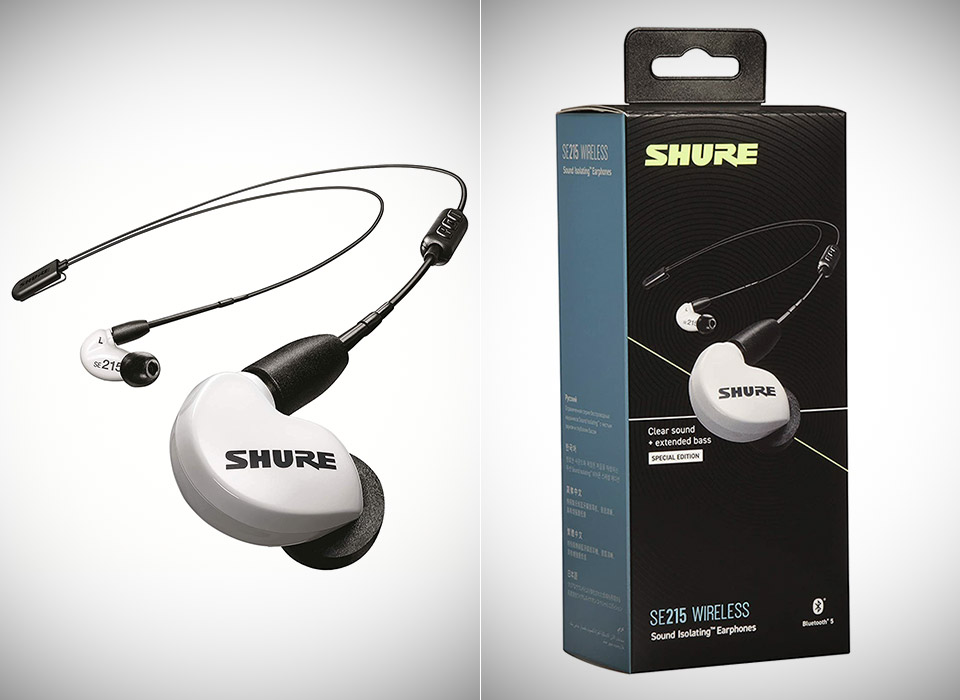 Shure SE215 BT2 Wireless Earbuds