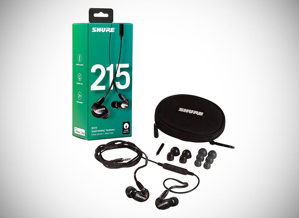 Shure SE215 Earbuds