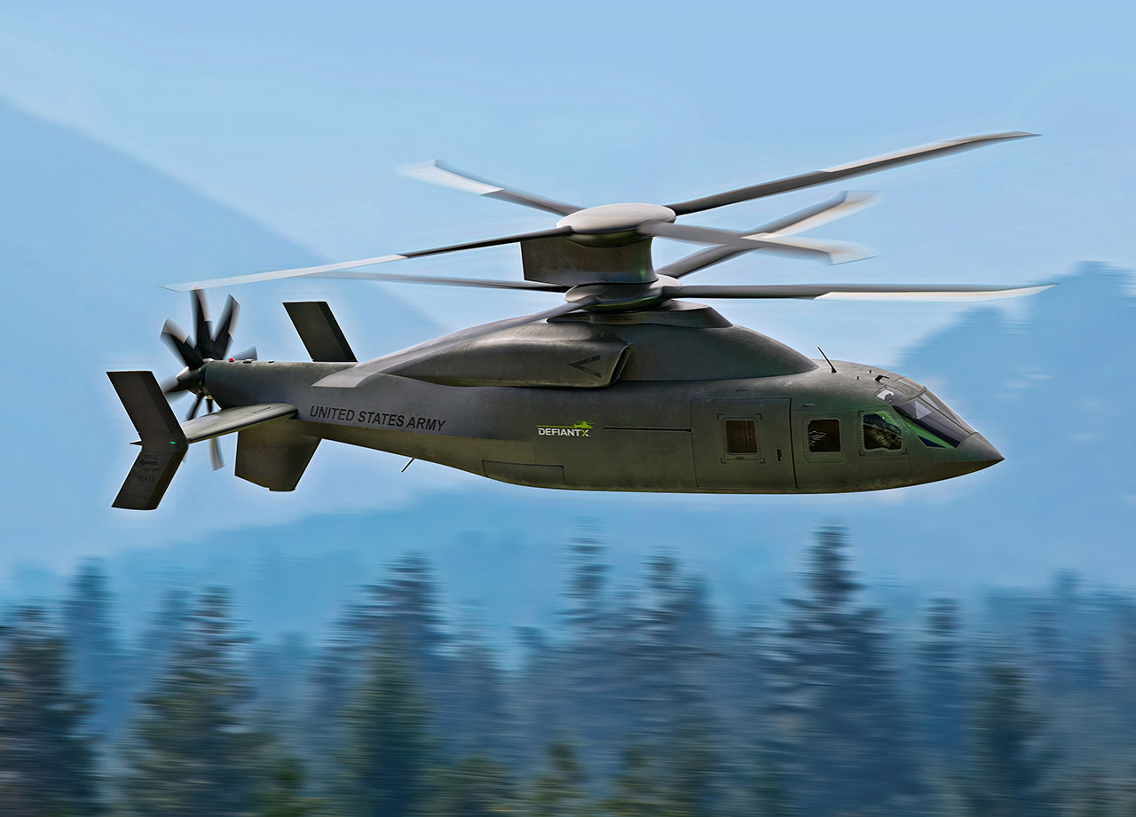 Sikorsky-Boeing Defiant X Helicopter
