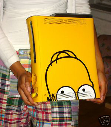 Ebay Watch Limited Edtion The Simpsons Xbox 360 Console Going For 999 Techeblog