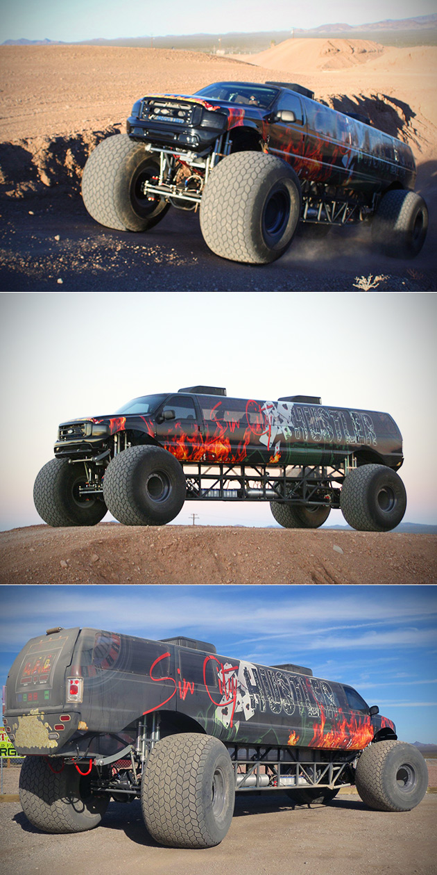 Sin City Hustler World's Longest Monster Truck