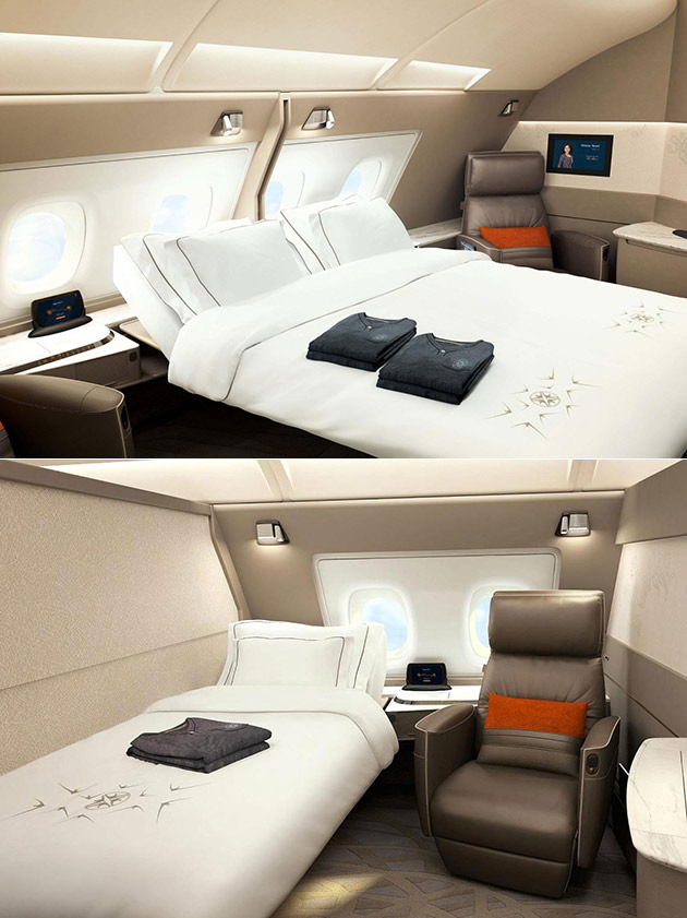Singapore Airlines New Suites