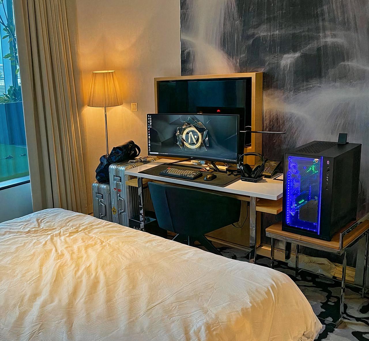 Singapore Gaming Computer Quarantine Hotel