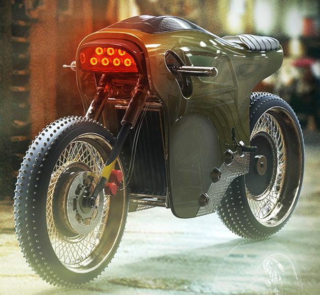 Sinister Electric Cafe Racer
