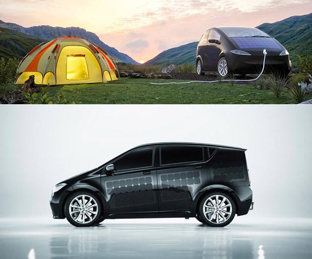 Par Sono SION Motors est une énergie Solaire Voiture qui ne coûte Que $(18K), A 300 Panneaux Photovoltaïques