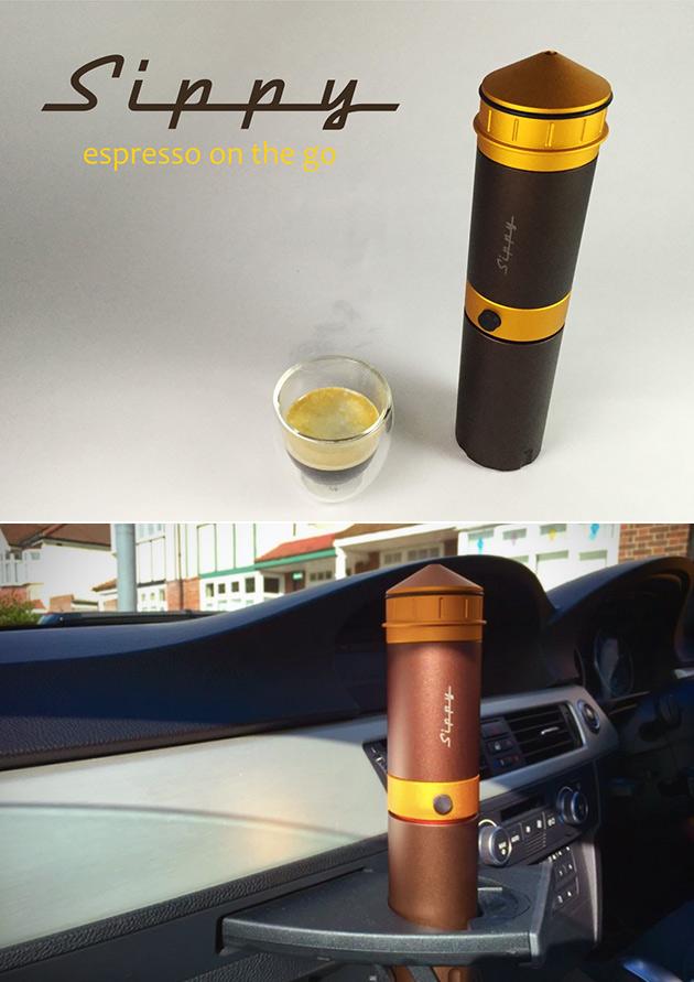 Sippy Espresso Machine