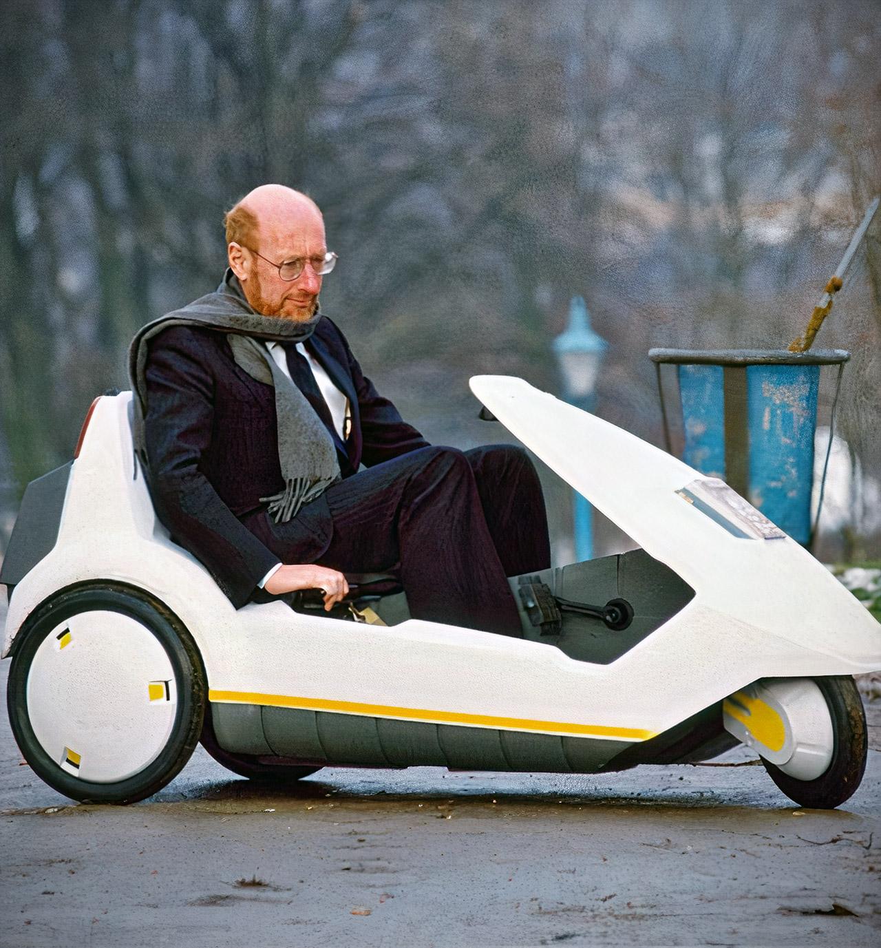 Sir Clive Sinclair Home Computer Sinclair C5 Dies