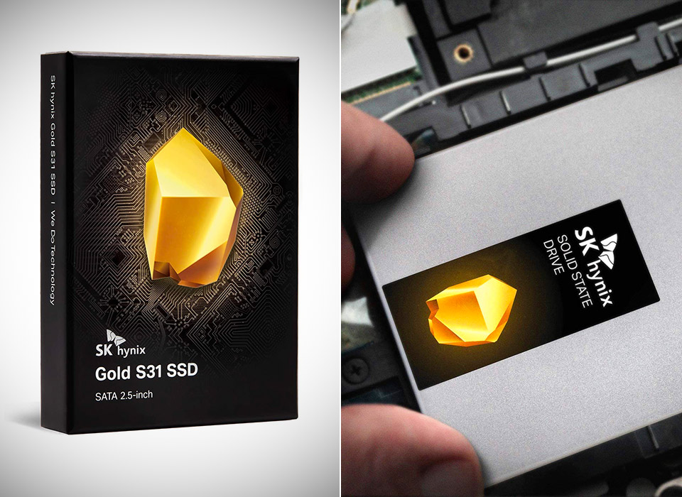 SK Hynix Gold S31 1TB Gen3 Internal SSD