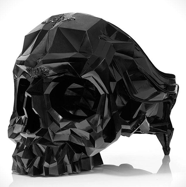 Skull Amrchair