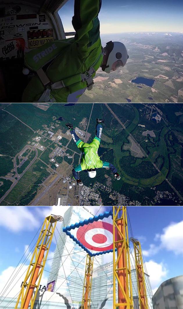 Skydiver No Parachute