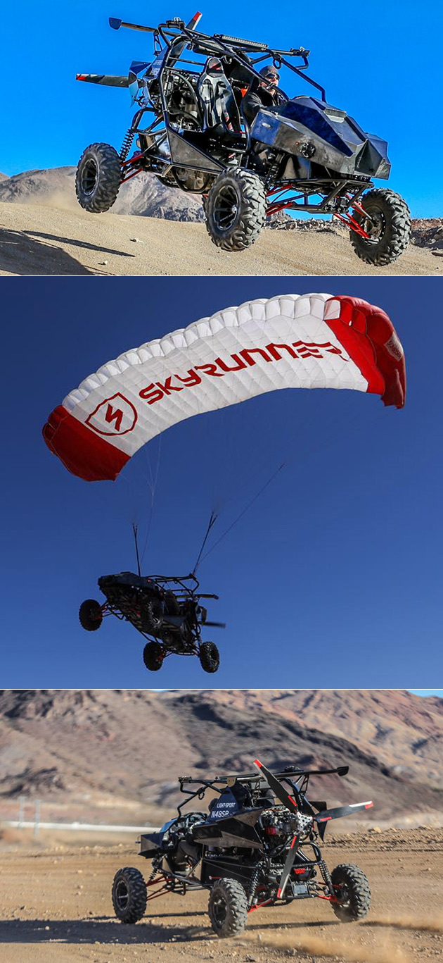 Skyrunner Flying Dune Buggy