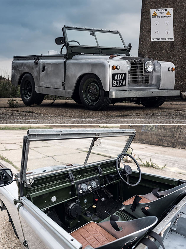 Slammed Rover Land Rover