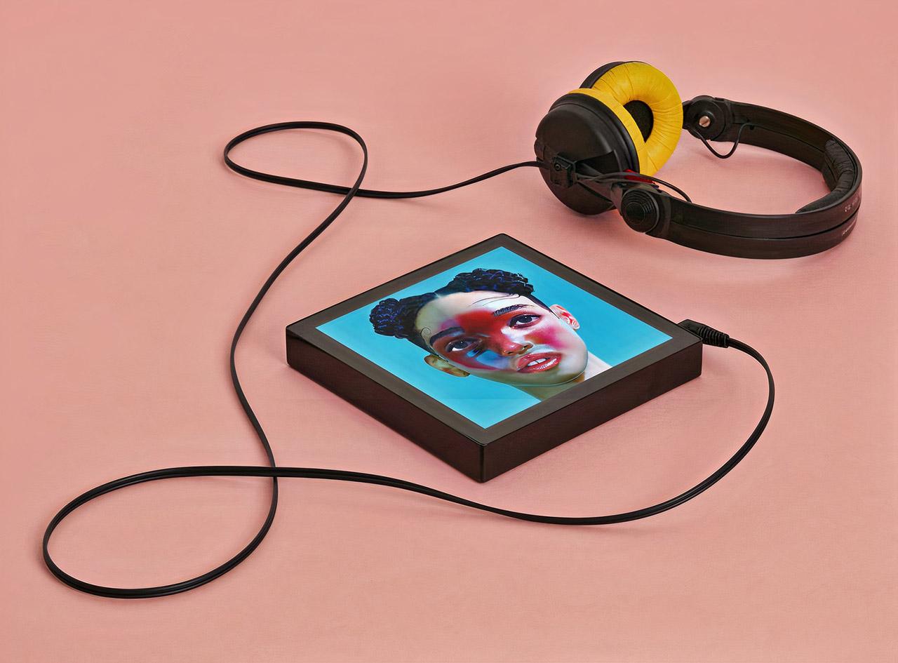 Sleevenote Music Player
