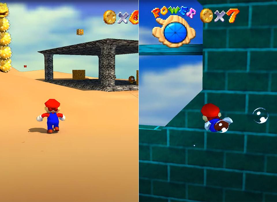 Nintendo Super Mario 64 Ray Tracing