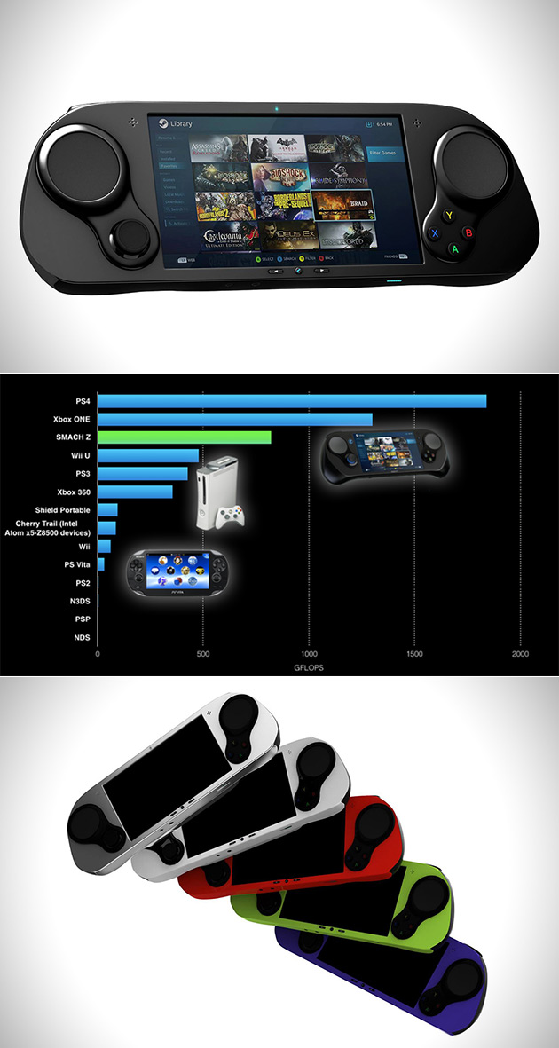 Smach Z Handheld PC