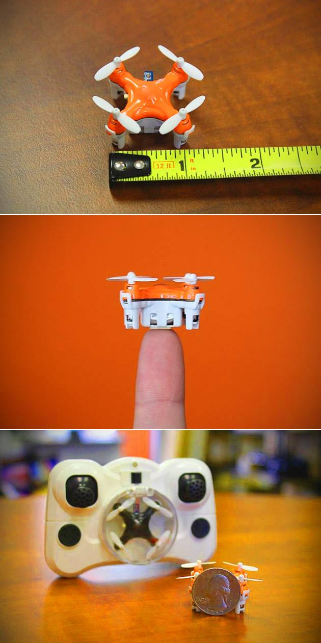 Smallest Quadcopter Drone