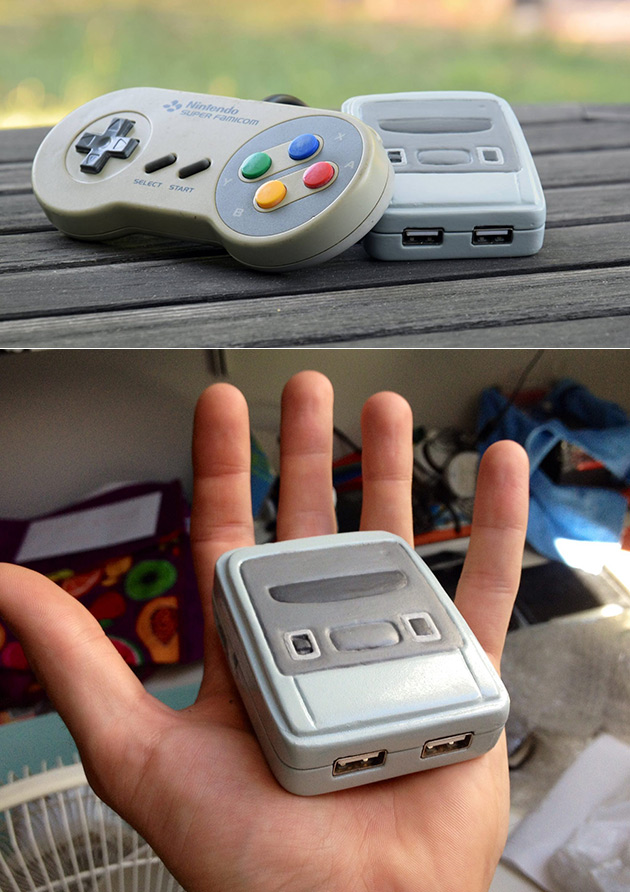 Smallest SNES