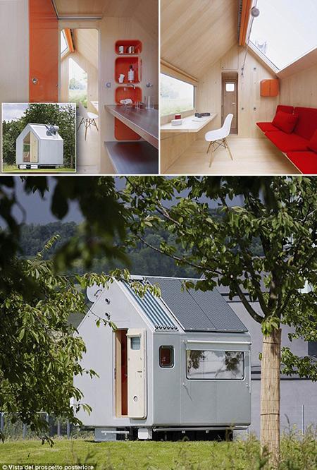 Vous n'en croirez pas que cette maison de 65 m² dispose d'une cuisine, chambre et douche