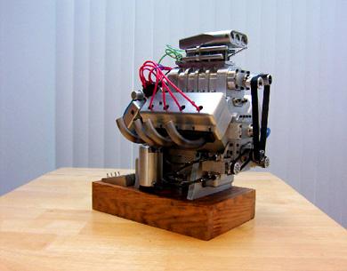 how to build a mini v8 engine