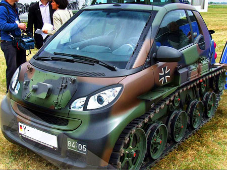 When Smart Car Meets Tank Techeblog