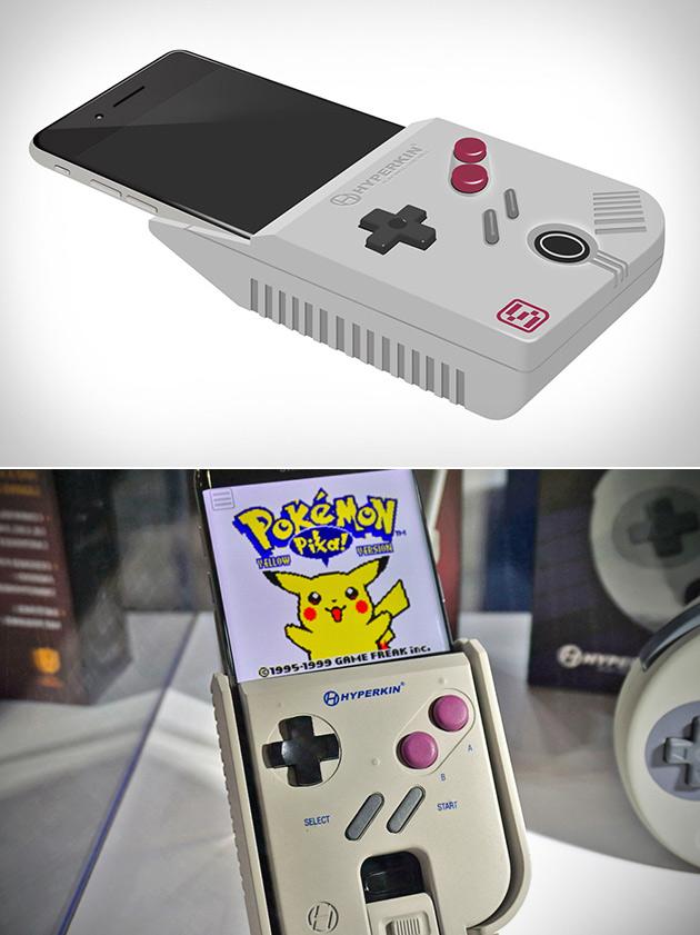 HyperKin SmartBoy становится реальностью, позволяет играть в реальную игру мальчик картриджей на Вашем смартфоне
