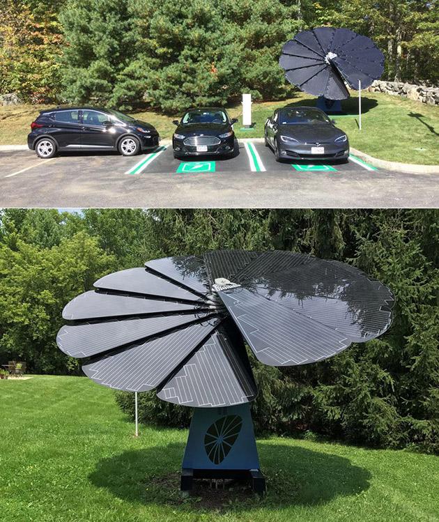 SmartFlower Solar System