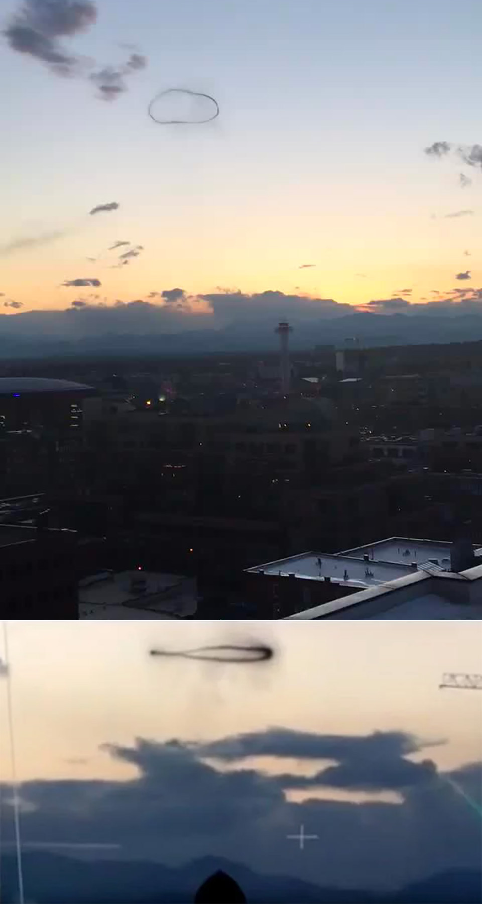 Smoke Ring UFO Denver