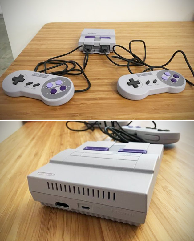 SNES Classic Review Shows Redesigned Controller Ports