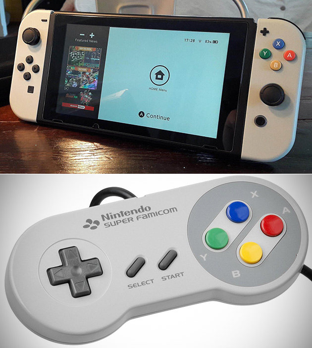 SNES Switch