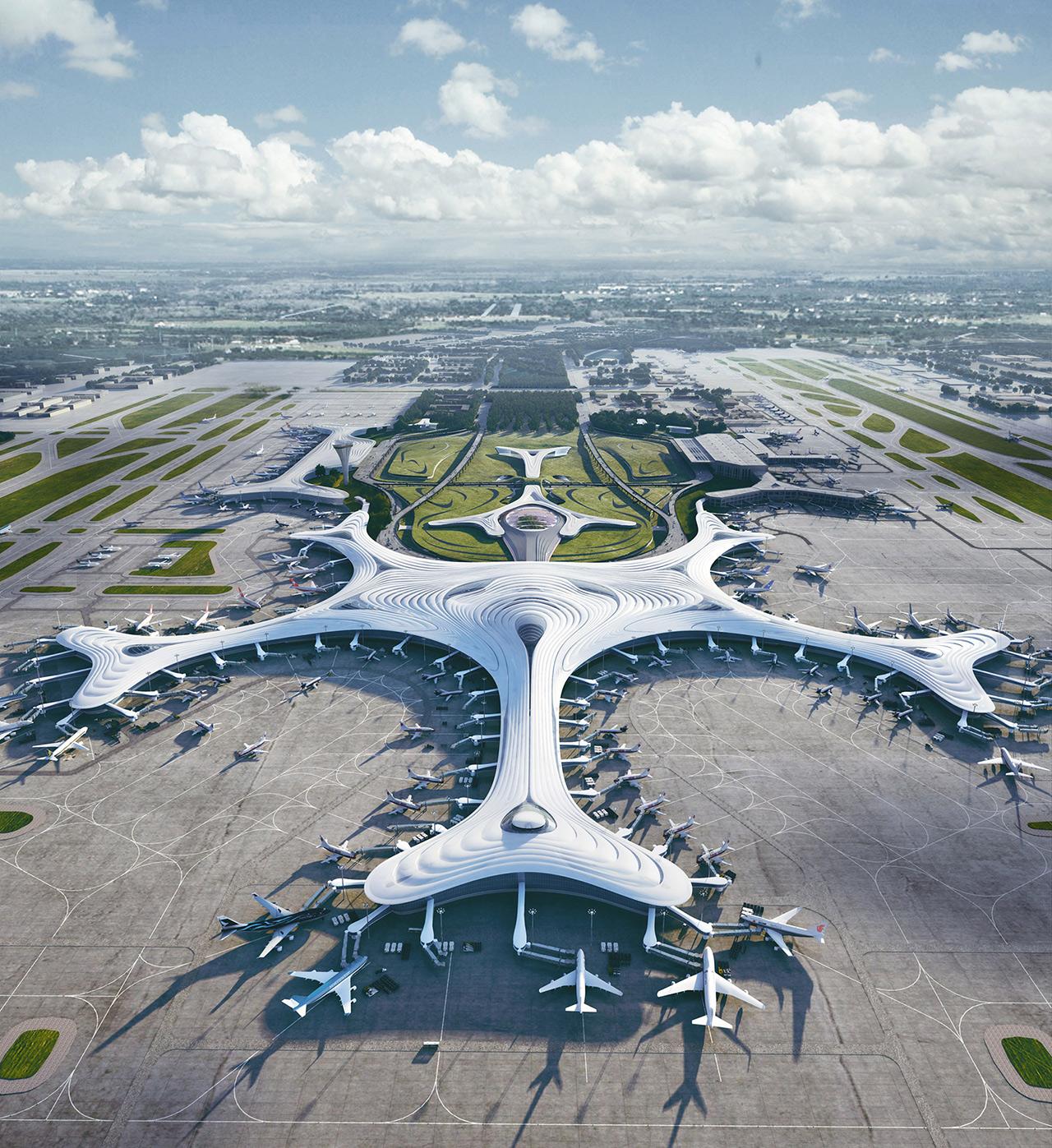 Snowflake Terminal Harbin Airport
